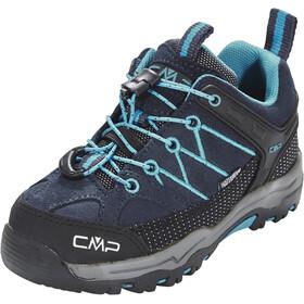 CMP Campagnolo Kids Rigel Low WP Trekking Shoes Asphalt-Cyano